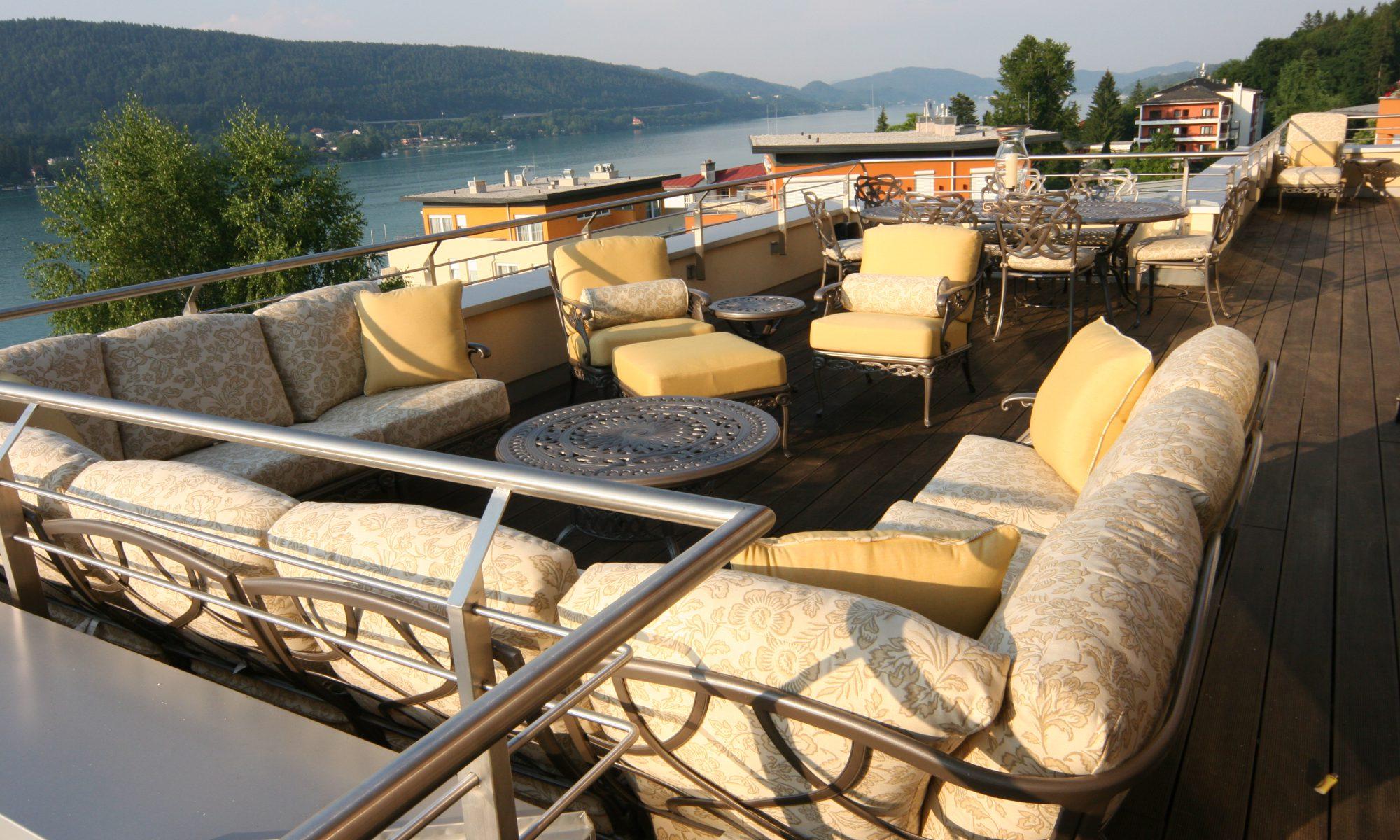 Austria Penthouse balcony view